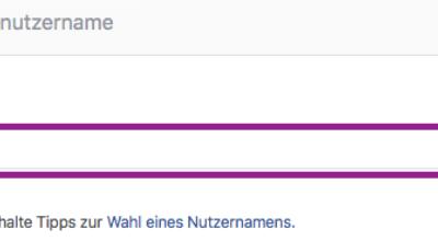 Hier definieren Sie die Facebook-Domain