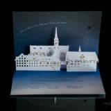 Weihnachtskarte Kloster Kappel