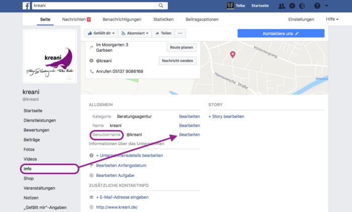 steckbrief facebook bearbeiten