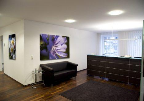 Büro-Räume Empfang