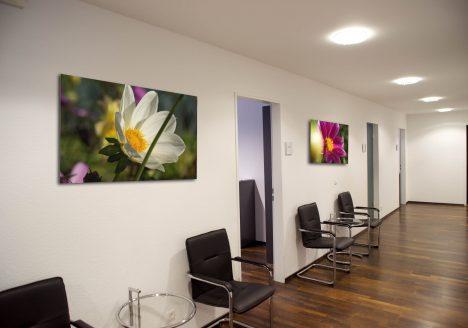 Büro-Räume Wartebereich